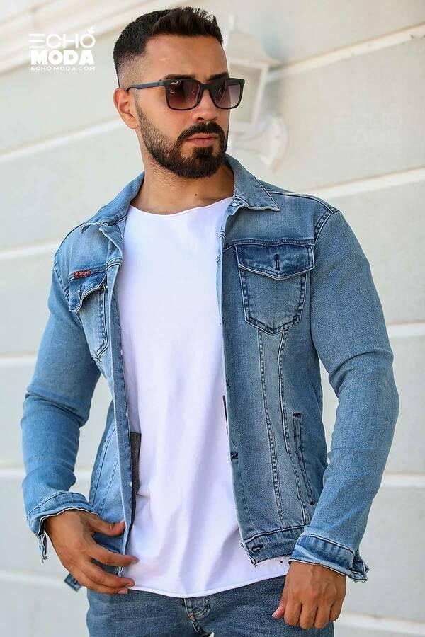 للبيع 15 جاكيت جينز دينيم شبابي كاجوال تركي 2021 Denim Jacket Men Mens Jackets Buy Jeans