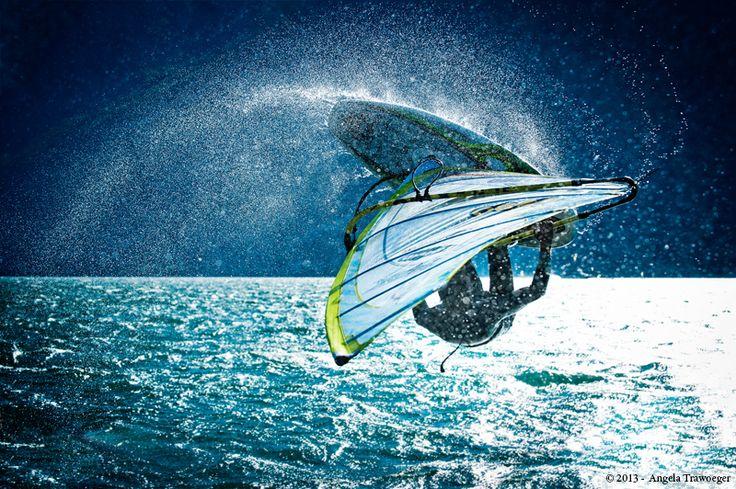 Windsurfing • Lake Garda