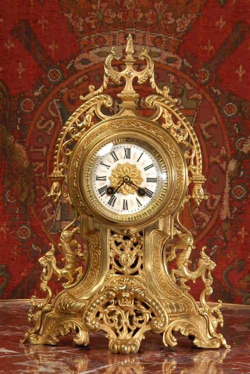 Impresionantes relojes antiguos   franceses de Dragon