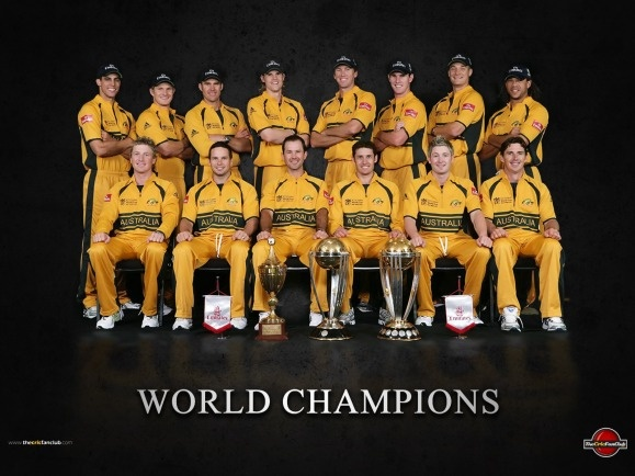 Australian cricket team--World Champions