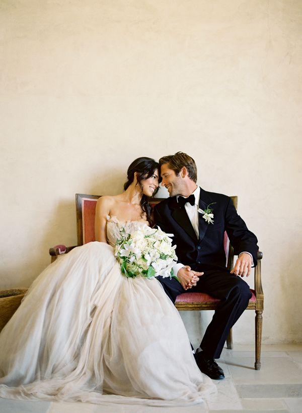 Simple, yet elegant wedding photograph.