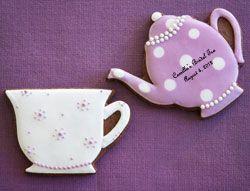 Teapot & Teacup Cookies