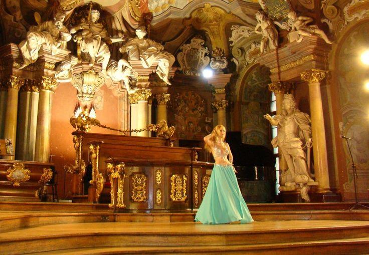 Pokaz w Auli Leopoldina, Uniwersytet Wrocławski