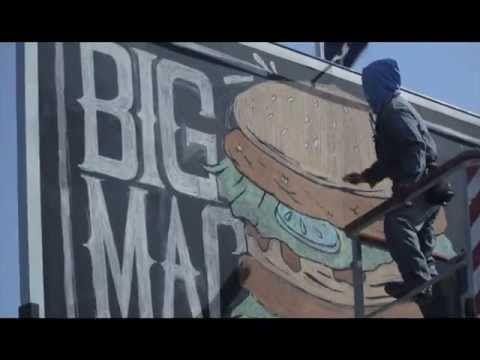 McDonalds Chalkboard Menu