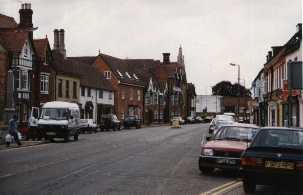 Shefford, England - Lived here.