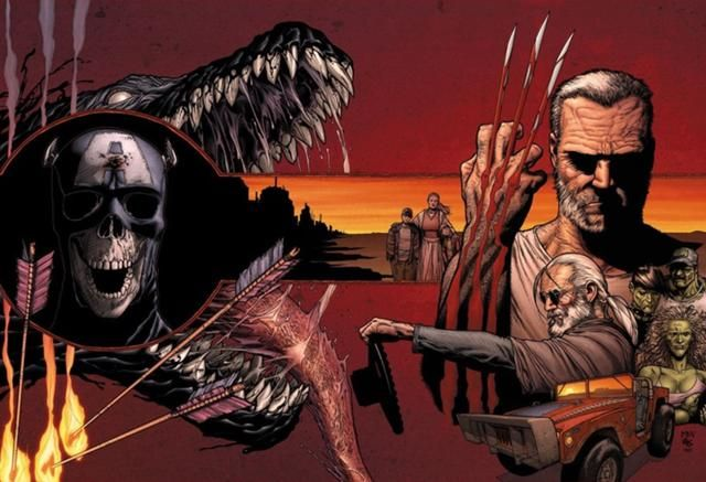 Old Man Logan - Written by Mark Millar - Possibly one of my favorite Wolverine story lines of ALL TIME!