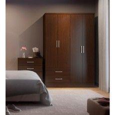 Ropero-Modelo-584-Chocolate-Bertolini-Ropero-Modelo-584-Chocolate-Recamara-Closet