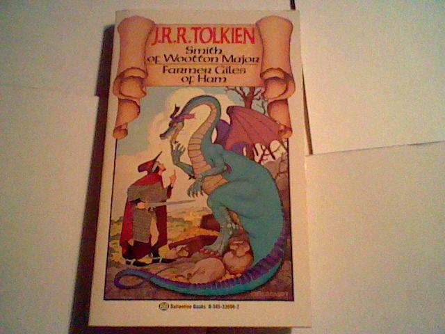 JRR J. R. R. Tolkien Smith of Wootten Major / Farmer Giles of Ham paperback