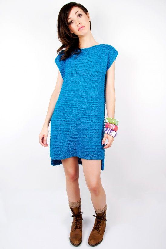 Yoshimi Knit Dress   Kollabora  Easy pattern!