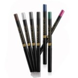 FM Group Eyeliners: Our eyeliners can draw both thick as well as think lines with immaculate precision. They are enriched with nourishing waxes and ethereal oils, are waterproof, and have a non-smear formula. They twist to open, and twist to close and have a convenient sharpener at the base of the pencil.