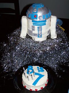 smart mama: How to make an r2d2 cake