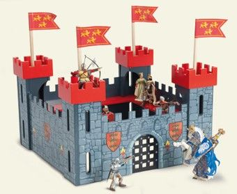 BARGAIN BASEMENT ITEM Le Toy Van Child's My First Castle in Red NOW $80.00