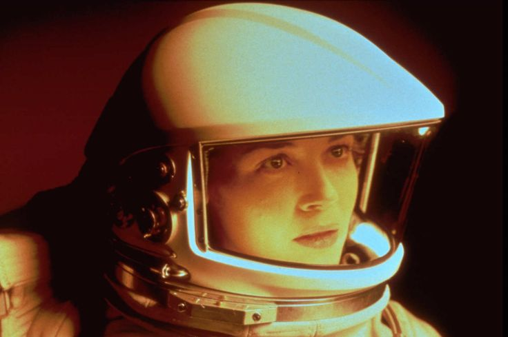 Lovely image of a Female Astronaut