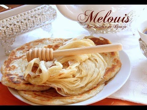 Meloui crêpes croustillantes et feuilletées   Recettes faciles, recettes rapides de djouza