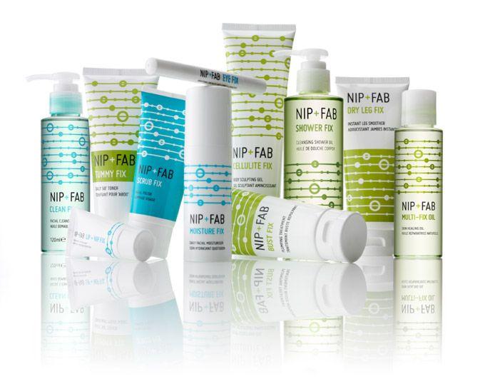 Nip Fab Packaging Skincare