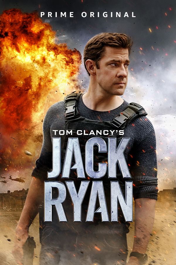 Image result for jack ryan season 1 poster