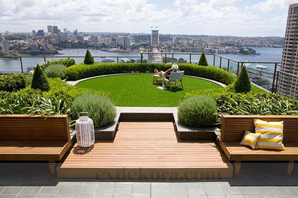 Çatı Bahçeleri evdekora.com
