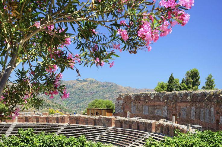 Grécke divadlo Taormina, Sicília