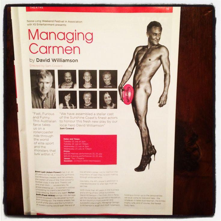Managing Carmen by David Williamson