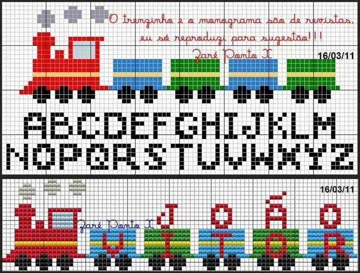 .Train Alphabet