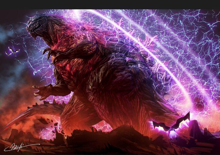 Awesome Godzilla art Godzilla, Godzilla wallpaper, Kaiju