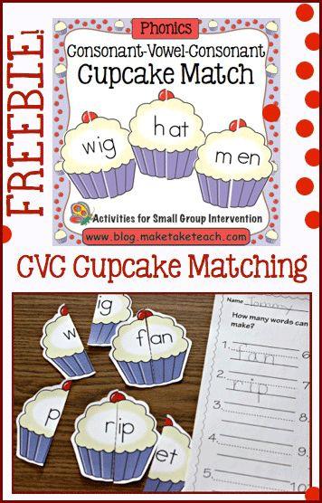 A fun little freebie for learning CVC words.