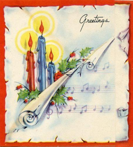 1079 best Christmas Cards - Vintage images on Pinterest | Vintage ...