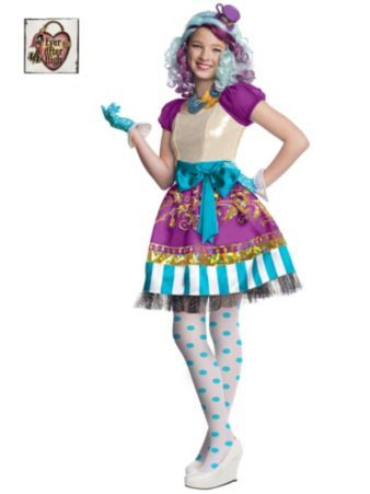 Girl's Ever After High Madeline Hatter Costume | Wholesale TV and Movie Costumes for Girls