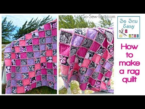 @: How to make a rag quilt