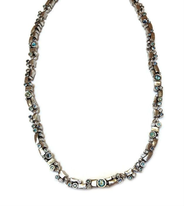 Patricia Locke Jewelry - Bandelier Necklace in Zephyr