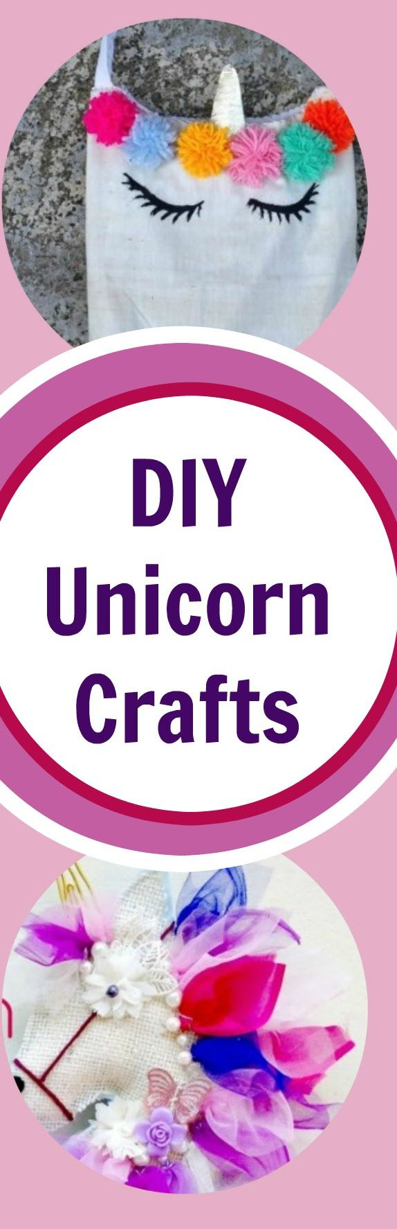 Eight DIY Unicorn Craft Tutorials These unicorn craft projects are perfect for children and adults. Lots of cute ideas for the unicorn lover in your family. Find the perfect unicorn craft for you or your child today! #unicorns #unicorncrafts #diyunicorns #crafts #diy #kidscrafts