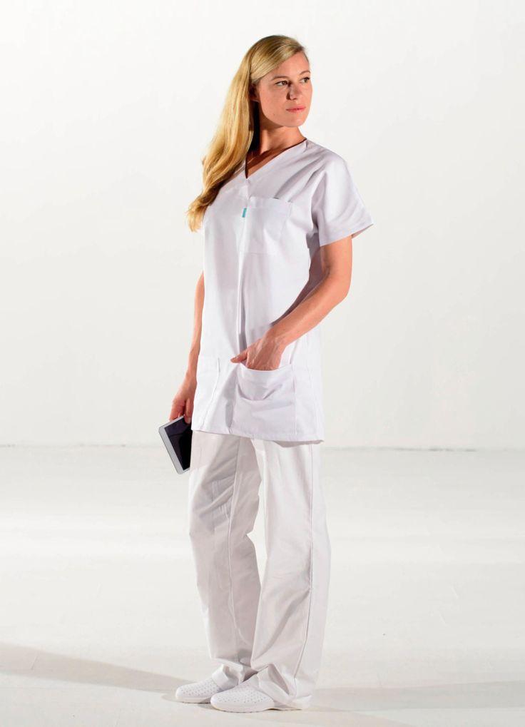 tunique blanche infirmiere
