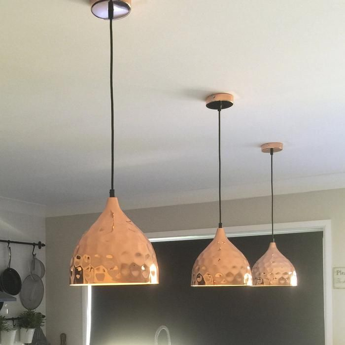 Nora Pendant Light Hammered Copper Copper Pendant Lights Copper Lighting Copper Lights Kitchen