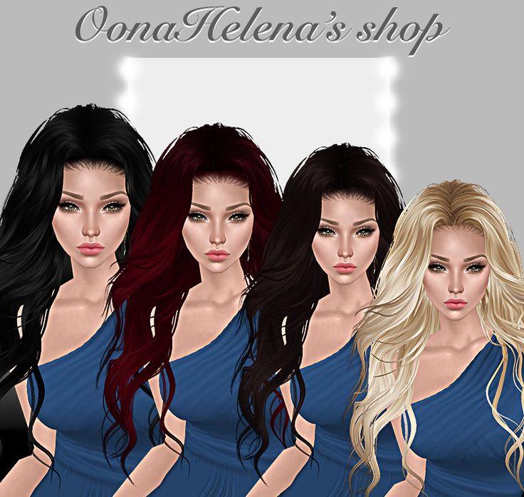 Haidee hairBlack | Cherry red | Dark brown | Blonde Available now in OonaHelena's shop.
