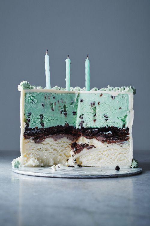 Classic Ice Cream Cake from Kinfolk
