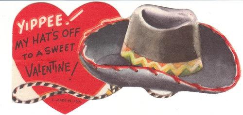 cowboy hat valentine box