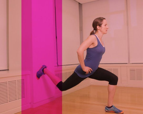 Good home workout!  All you need is wall and floor!