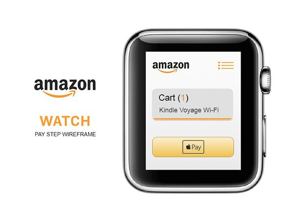 amazon watch app (wireframe)