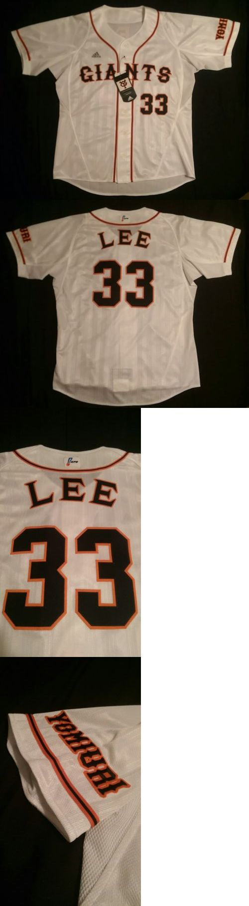 Baseball-Other 204: Nwt Authentic Adidas Tokyo Yomiuri Giants 2006 Jersey Lee Seung Yeop #33 Med. -> BUY IT NOW ONLY: $400 on eBay!