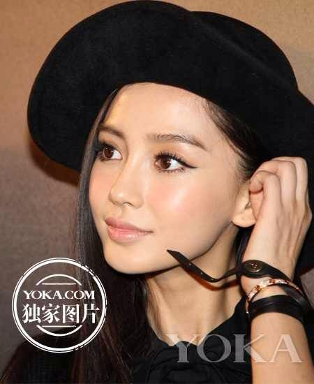 Angelababy maybelline makeup