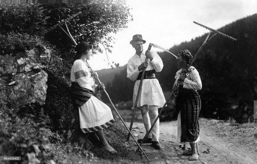 Moldova Romania peasants