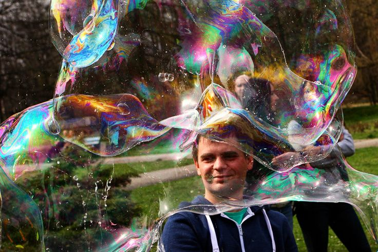 Dzień Bańki Mydlanej - fajna lokalna inicjatywa. Może doczeka się edycji w innych miastach.