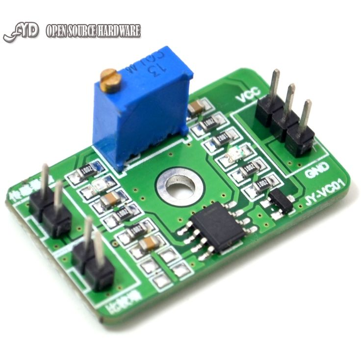 1pcs LM393 Voltage Comparator Module Analog Device Comparator Control High Level Output LED Indication