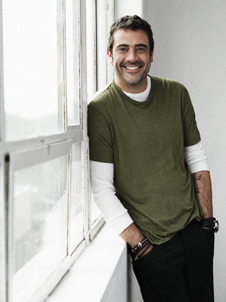 Jeffry Dean Morgan; does it get any more sexy, handsome... than this?  I think not!