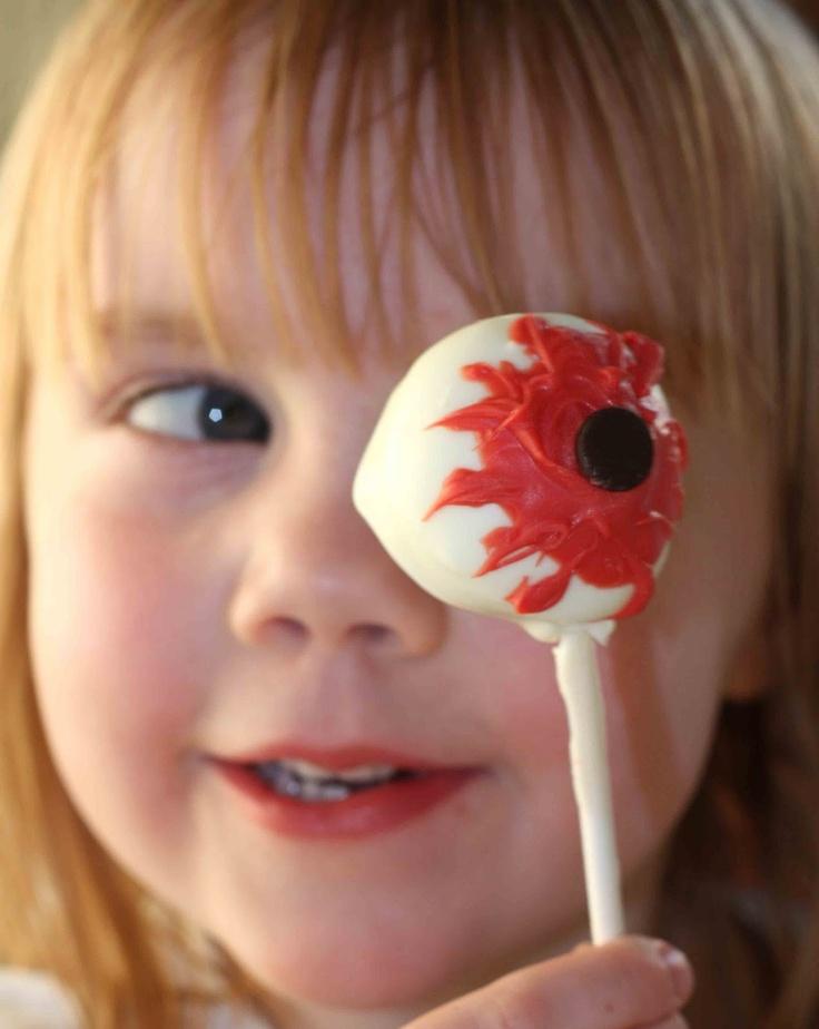 Gourmet Mom on-the-Go: Puffy Eyeball Truffles