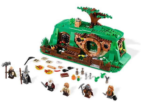 The Hobbit Lego: Visit Bilbo Baggins™ in his Hobbit home! WANT THIS SO BADLY!! I will always be a kid...