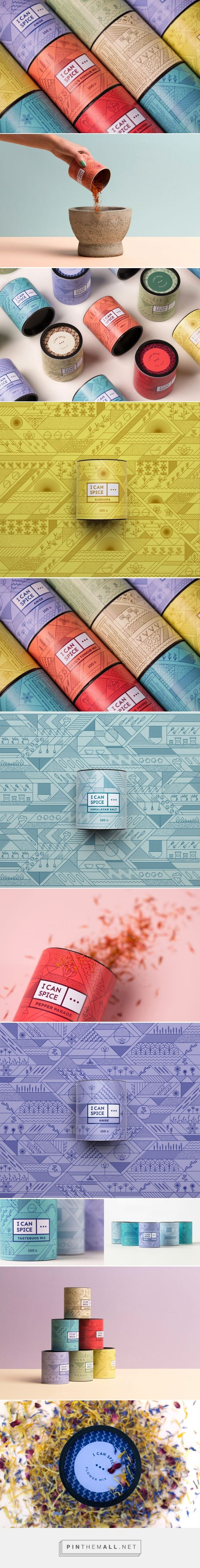 I Can Spice packaging design by DekoRatio Branding & Design Studio - http://www.packagingoftheworld.com/2017/09/i-can-spice.html