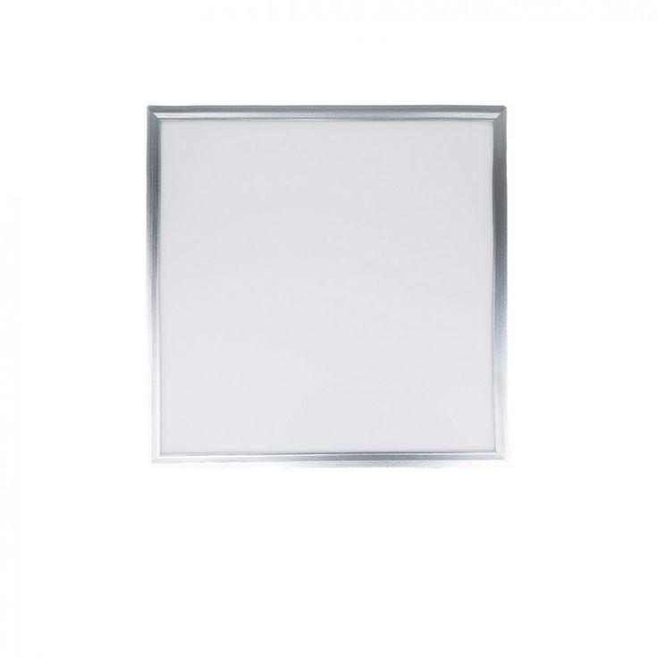 Pantalla LED 45W Pantalla LED fabricada en aluminio.  Ideal para colocarla empotrada en techos desmontables o colgada con cable de acero. Diseño elegante y gran luminosidad.
