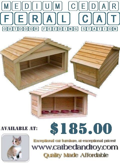 Medium Cedar Feral Cat Outdoor Feeding Station – Do The Feral Cats Need This? - #mediumcedarferalcatoutdoorfeedingstation #insulatedoutdoorcatshelters #outdoorcatenclosures #feralcathouse #outdoorcathouseplans #outdoorcathouseforwinter #outdoorheatedcathouse #outsidecatshelters #outdoorcathouses #outdoorcatsheltersforsale #outdoorcatsheltersandfeedingstations #outsidecathouse #outsidecatenclosures #insulatedoutdoorcathouse
