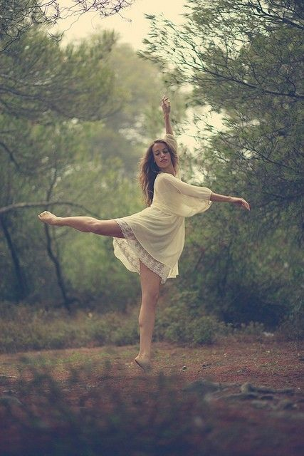 Dance photoshoot ideas / Forest Nymph III / Flickr - Photo Sharing! on we heart it / visual bookmark #50587067